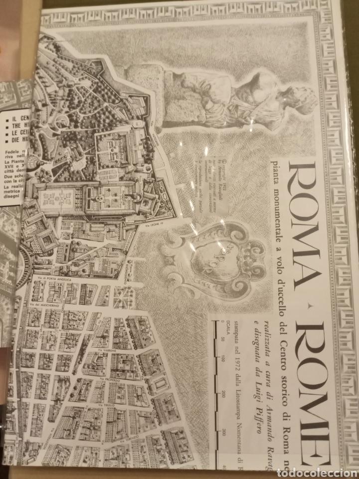 Mapas contemporáneos: Mapa ROMA Pianta monumentale nellanno del Centenario 1970 Armando Ravaglioli Italia - Foto 8 - 218840651
