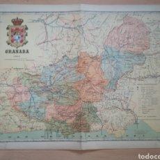 Mapas contemporáneos: MAPA ANTIGUO DE GRANADA. AÑO 1902.. Lote 219274610