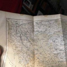 Mapas contemporáneos: GRECIA , GREECE HELLAS HERMOSO PLANO DE GRECIA WAGNER WILHELM LEIPZIG 1867 24 X 30,5 CM. Lote 219277101