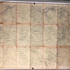 Mapas contemporáneos: VIZCAYA SUR. MAPA TOPOGRÁFICO CON LÍNEAS ELÉCTRICAS DE IBERDUERO DEL AÑO 1972.. Lote 219301821