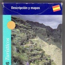 Mapas contemporáneos: CAJA CON 22 SENDEROS TURÍSTICOS TENERIFE. 22 MAPAS INDEPENDIENTES. Lote 220564043