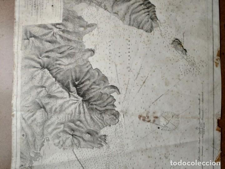 Mapas contemporáneos: PLANO DEL PUERTO DE CARTAGENA CON LA ESCOMBRERA Y ALGAMECA- 1873-1876 - 1000-003-B - Foto 26 - 45836976
