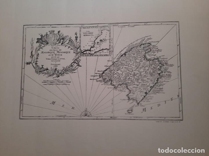 Mapas contemporáneos: Lote 4 mapas reproducción Baleares Mallorca Ibiza Menorca Editorial Ripoll 70 x 54 1981 - Foto 8 - 220838027