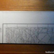 Mapas contemporáneos: MAPA - LAS PEDROÑERAS, EL PROVENCIO - CUENCA - 715 - 50 CM X 68 CM - 1:50.000 -. Lote 221286543