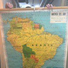 Mappe contemporanee: MAPA ESCOLAR ANTIGUO AMÉRICA DEL SUR SEIX BARRAL. Lote 221470280
