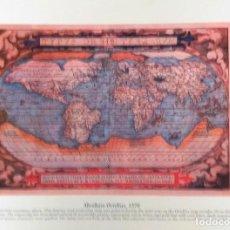 Mapas contemporáneos: MAPA MUNDI TYPVS ORBIS TERRARVM ABRAHAM ORTELIUS 1570. Lote 222220327
