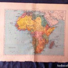 Mapas contemporáneos: MAPA DE AFRICA XIX. Lote 222238803