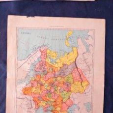 Mapas contemporáneos: MAPA DE RUSIA XIX. Lote 222239173