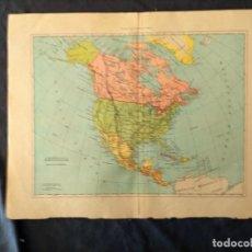 Mapas contemporáneos: AMERICA SEPTENTRIONAL XIX. Lote 222239578
