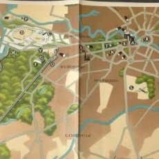 Mapas contemporáneos: MAPA BERLIN 1936 OLIMPIADA LAGEPLAN DER OLYMPISCHEN KAMPFSTATTEN 30 POR 85 ORIGINAL. Lote 222258683