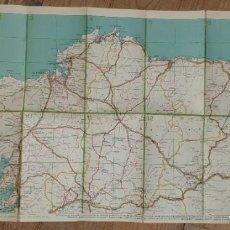 Mapas contemporáneos: ANTIGUA GUIA INTERNACIONAL DE LAS CARRETERAS DE ESPAÑA Y PORTUGAL. Lote 222283891