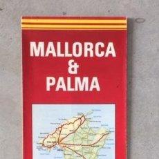 Mapas contemporáneos: MAPA DE MALLORCA VINTAGE. Lote 222452836