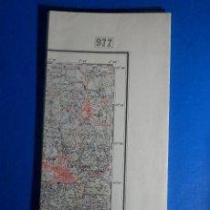 Mapas contemporáneos: MAPA TOPOGRÁFICO NACIONAL DE ESPAÑA - CARTAGENA, 1:50.000 - HOJA 977 1945. Lote 222952288