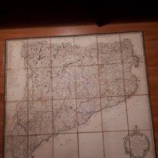 Mappe contemporanee: MAPA DEL PRINCIPADO DE CATALUÑA. D. TOMÁS LÓPEZ GEÓGRAFO 1816. 2° EDICIÓN.. Lote 223880842