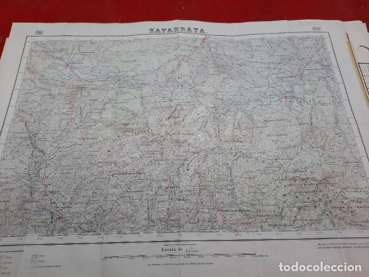MAPA MILITAR ZAFARRAYA. (Coleccionismo - Mapas - Mapas actuales (desde siglo XIX))