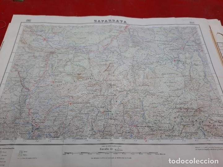 Mapas contemporáneos: Mapa militar Zafarraya. - Foto 2 - 224200290