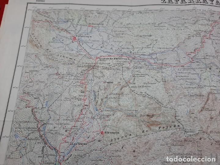 Mapas contemporáneos: Mapa militar Zafarraya. - Foto 4 - 224200290