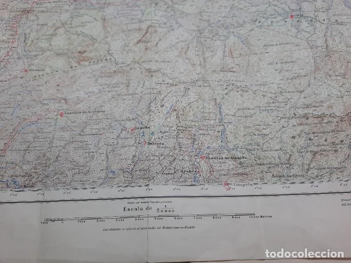 Mapas contemporáneos: Mapa militar Zafarraya. - Foto 6 - 224200290