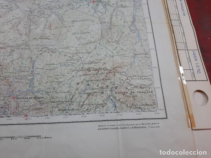 Mapas contemporáneos: Mapa militar Zafarraya. - Foto 7 - 224200290