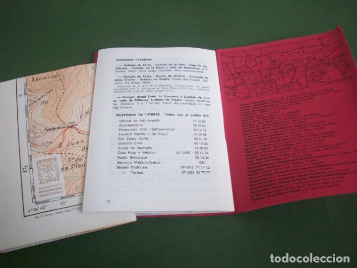 Mapas contemporáneos: GUIA CARTOGRAFICA EDIT. ALPINA - PIRINEO ARAGONES - EL TURBON - PICO DE VALLIBIERNA - Foto 2 - 224877246