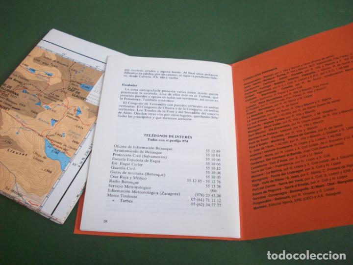 Mapas contemporáneos: GUIA CARTOGRAFICA EDIT. ALPINA - PIRINEO ARAGONES - EL TURBON - PICO DE VALLIBIERNA - Foto 4 - 224877246