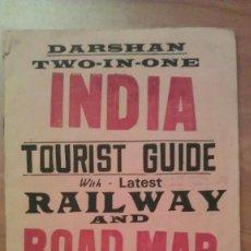 Mapas contemporáneos: 1980 INDIA TOURIST GUIDE - NUEVA DELHI. Lote 225135215