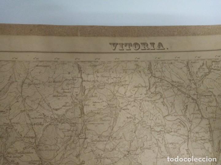 MAPA MILITAR VITORIA (Coleccionismo - Mapas - Mapas actuales (desde siglo XIX))