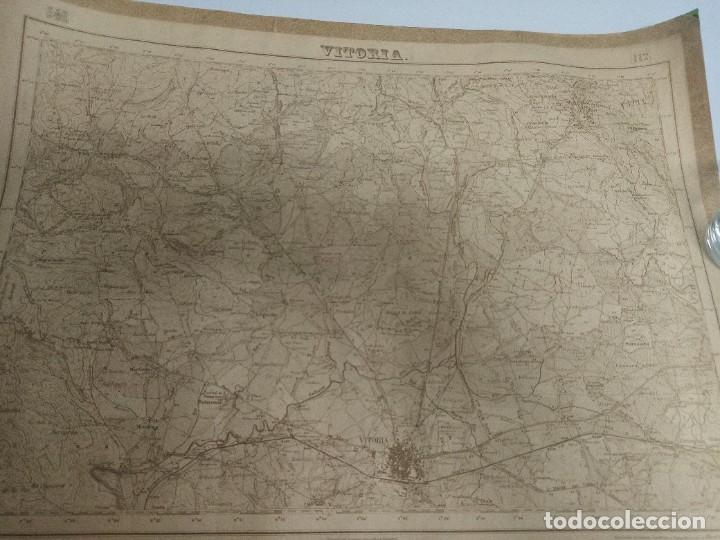 Mapas contemporáneos: Mapa militar Vitoria - Foto 3 - 226140475