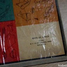Mapas contemporáneos: MAPA ÁFRICA RECORTABLE SEIX Y BARRAL. Lote 228831260