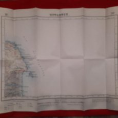 Mapas contemporáneos: MAPA ESTARTIT GIRONA GERONA CATALUÑA ISLAS MEDAS EDICIÓN MILITAR 1949 TORROELLA DE MONTGRÍ. Lote 229324035