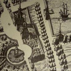 Mapas contemporáneos: AÑOS 40-PLANO DE MADRID EN EL SIGLO XVII-PALACIO RETIRO-ESTANQUE-ERMITA SAN BRUNO, PABLO-PORTUGUESES. Lote 230612365