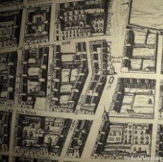 Mapas contemporáneos: AÑOS 40-PLANO DE MADRID EN EL SIGLO XVII-CALLE-PALMA-SAN VICENTE- ERMENEGILDO-FUENCARRAL-7 JARDINES. Lote 230613325