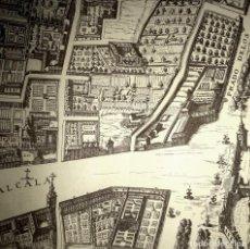 Mapas contemporáneos: AÑOS 40-PLANO DE MADRID EN EL SIGLO XVII-CALLE ALCALÁ-PASEO RECOLETOS-BARQUILLO-HORTALEZA-INFANTAS…. Lote 230613930