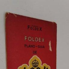Mappe contemporanee: PLANO GUÍA DE TOLEDO. FOLDEX. CON PLANO DESPLEGABLE. 1/4.000. Lote 230799995
