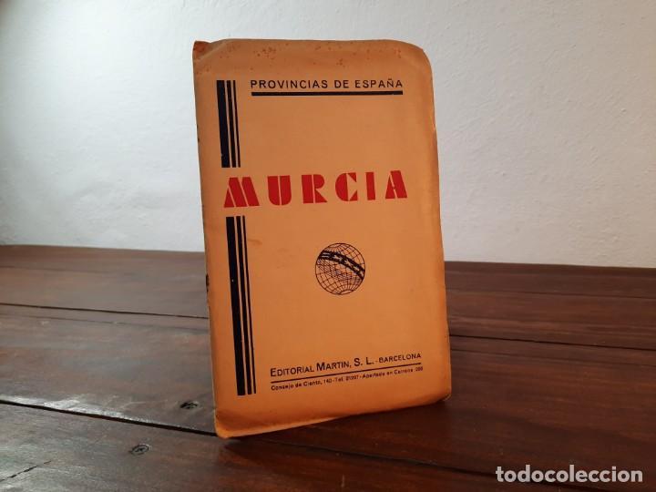 MURCIA, PROVINCIAS DE ESPAÑA - D. BENITO CHIAS CARBÓ - EDITORIAL MARTIN, NO CONSTA AÑO (Coleccionismo - Mapas - Mapas actuales (desde siglo XIX))