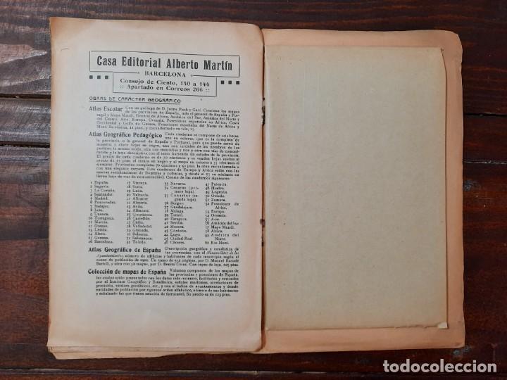 Mapas contemporáneos: MURCIA, PROVINCIAS DE ESPAÑA - D. BENITO CHIAS CARBÓ - EDITORIAL MARTIN, NO CONSTA AÑO - Foto 7 - 230874325