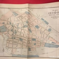 Mappe contemporanee: NOMENCLATOR PLANO DE CIUDAD-REAL, PRINCIPIO SIGLO XX. Lote 231218880
