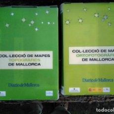Mapas contemporáneos: MAPES TOPOGRÀFICS MALLORCA, COL·LECCIÓ DE DIARIO DE MALLORCA. Lote 231514700