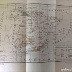 Mapas contemporáneos: MAPA ESPAÑA MINERIA 1931 27 POR 38. Lote 231993865