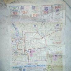 Mapas contemporáneos: PLANO O MAPA DE MEMPHIS; EE.UU. Lote 232838615