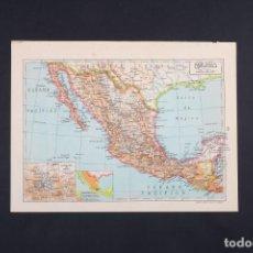 Mapas contemporáneos: MAPA DE MÉJICO, MAPA VINTAGE DE MÉJICO, MAPAMUNDI, ATLAS, MAPA VINTAGE, MAPA, MAPA ATLAS. Lote 235176015