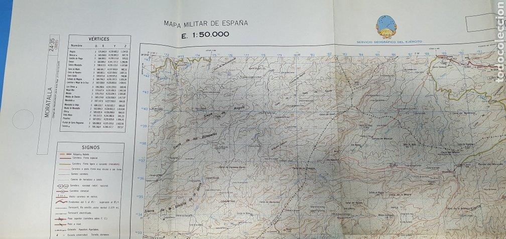 Mapas contemporáneos: MAPA MILITAR DE ESPAÑA - MORATALLA - SERVICIO GEOGRÁFICO DEL EJÉRCITO - E 1: 50.000 - Foto 3 - 236128315