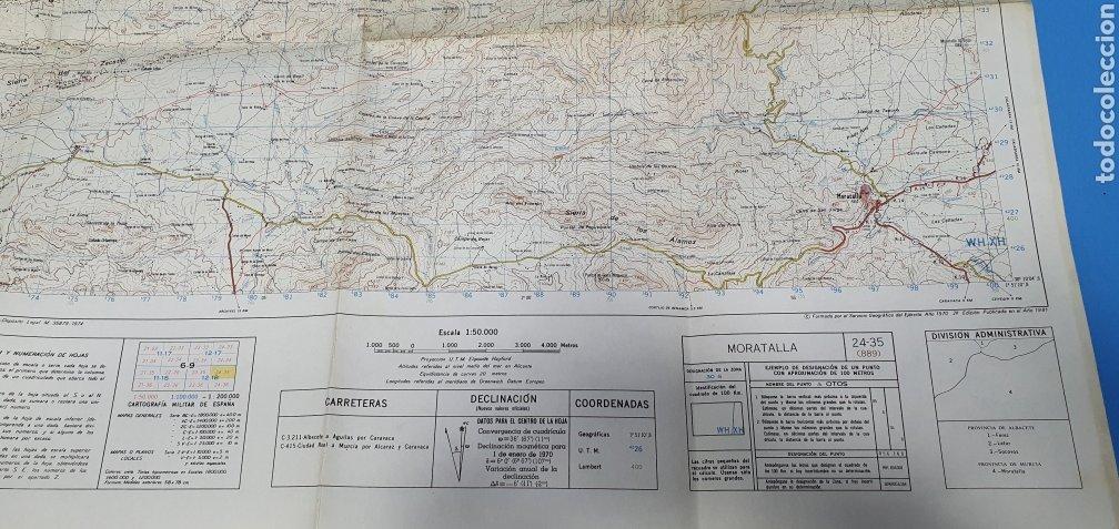Mapas contemporáneos: MAPA MILITAR DE ESPAÑA - MORATALLA - SERVICIO GEOGRÁFICO DEL EJÉRCITO - E 1: 50.000 - Foto 6 - 236128315