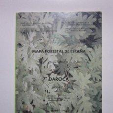 Mapas contemporáneos: DAROCA: HOJA 7-5: MAPA FORESTAL DE ESPAÑA. MADRID: ICONA, 1990. Lote 236219510