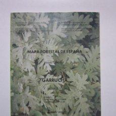 Mapas contemporáneos: GARRUCHA: HOJA 7-11: MAPA FORESTAL DE ESPAÑA. MADRID: ICONA, 1990. Lote 236219760