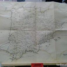 Mapas contemporâneos: LMV - MAPA DE PTOLOMEO (SEGÚN A. TOVAR), 38X31'50 CM. Lote 236348685