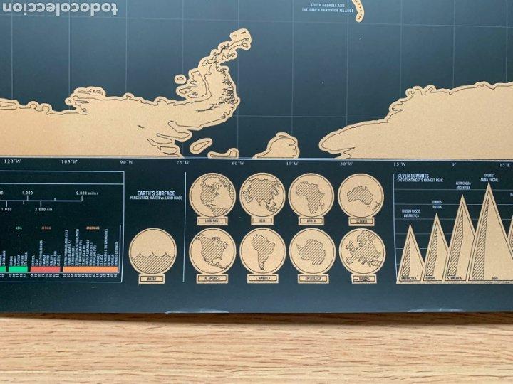 Mapas contemporáneos: Mapamundi. Scratch map (Deluxe edition). Mapa de rascar (Edición Deluxe). Geografía. - Foto 6 - 236918925