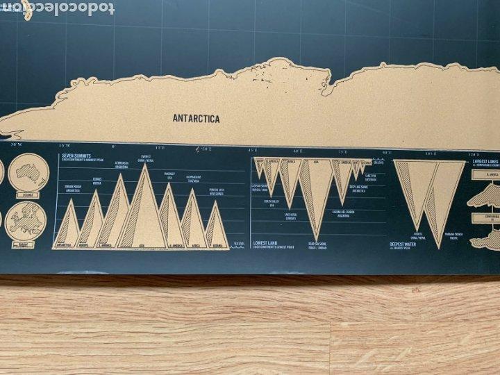Mapas contemporáneos: Mapamundi. Scratch map (Deluxe edition). Mapa de rascar (Edición Deluxe). Geografía. - Foto 9 - 236918925