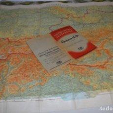 Mapas contemporáneos: ÖSTERREICH ALEMANIA / ESC. 1:600.000 - FREYTAG & BERNDT HANDKARTEN - AÑO 1937 / 112 X 77,5 CM ¡MIRA!. Lote 237368820