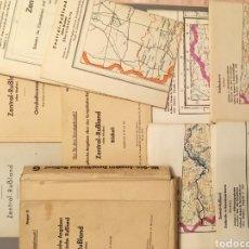 Mapas contemporáneos: 1941 MAPAS MILITARES ALEMANES DE MOSCÚ MAPPE G MILITARGEOGRAPHISCHE ANGABEN MOSKAU DIVISIÓN AZUL. Lote 238320710